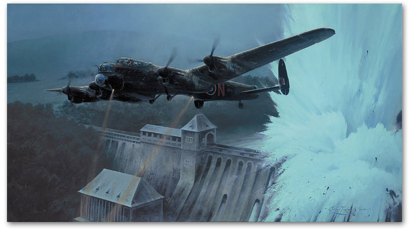 Breaching the Eder Dam - by Robert Taylor