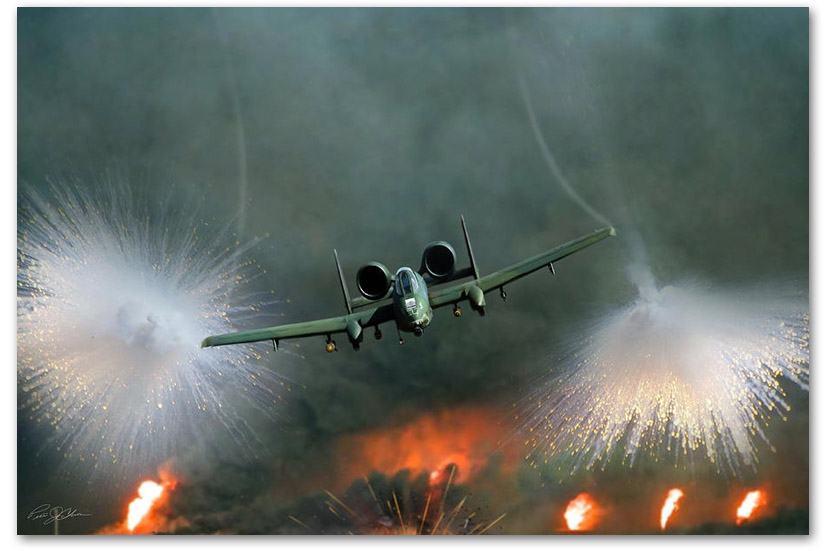 Close Air Support - by Peter Chilelli