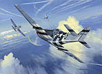 Combat Over Budapest - by Mark Postlethwaite