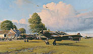 Front Line Hurricanes - by Robert Taylor