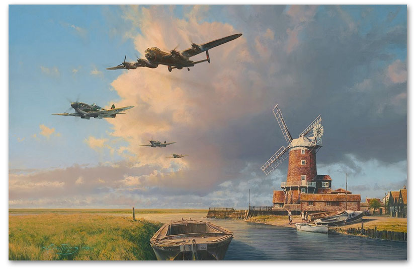 Home Again England - by Robert Taylor
