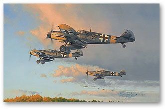 Hunters at Dawn - by Robert Taylor