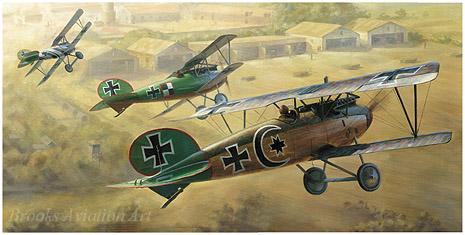 """/""""13th Aero Squadron/"""" Jim Laurier WW I Aviation Print"""