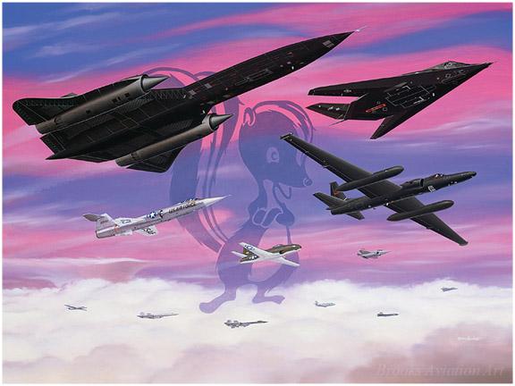 Lockheed Legends.  Brooks Aviation Art.