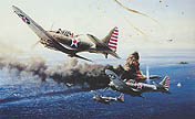 Battle of the Coral Sea - by Robert Taylor