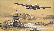 Dambusters - Inbound to Target - by Robert Taylor