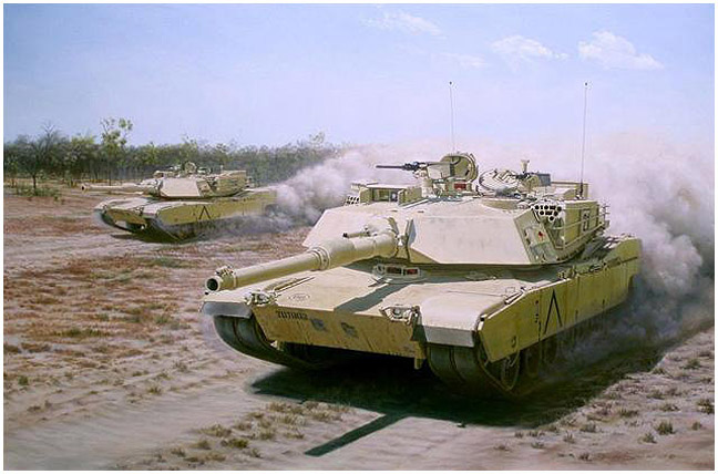 M1A1 AIM SA Abrams - A New Generation