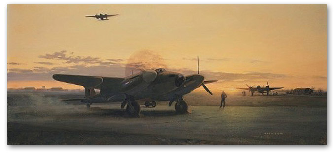 Mosquitos at Dusk - by Gerald Coulson