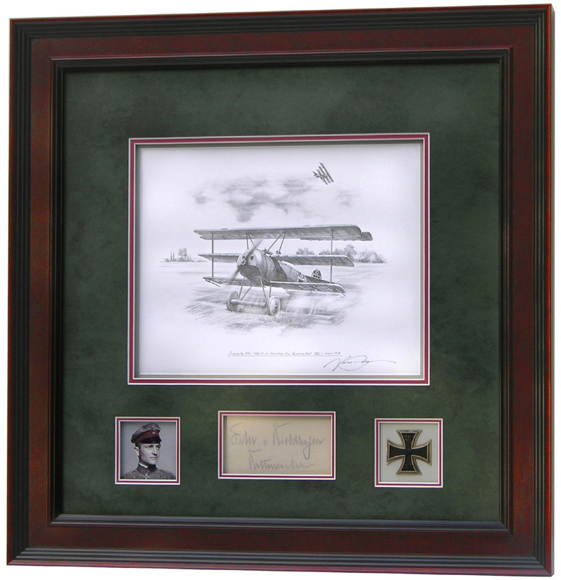 Richthofen Drawing by Nicolas Trudgian