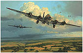 Thunderheads Over Ridgewell - by Robert Taylor